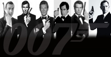 We've said goodbye to most of these 007's as well